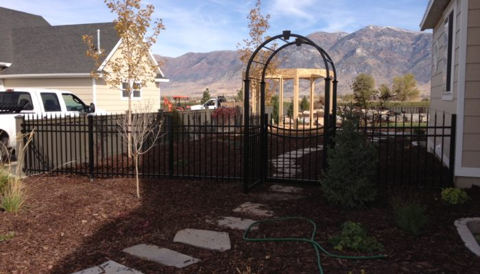 Bronco Fence Ornamental Iron Fence Gate Kaysville UT
