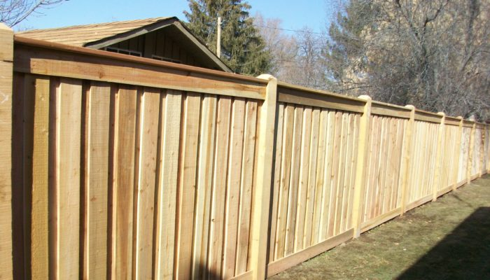Wood Fence Kaysville Utah